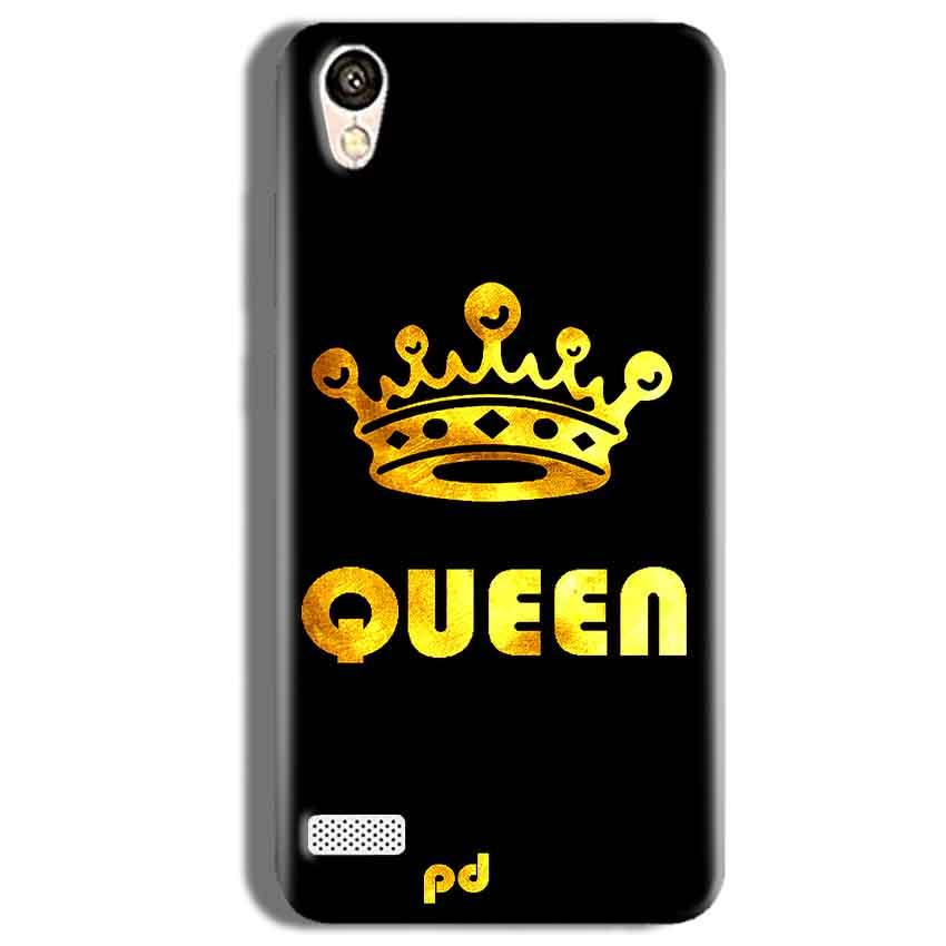 Vivo Y11 Mobile Covers Cases Queen With Crown in gold - Lowest Price - Paybydaddy.com