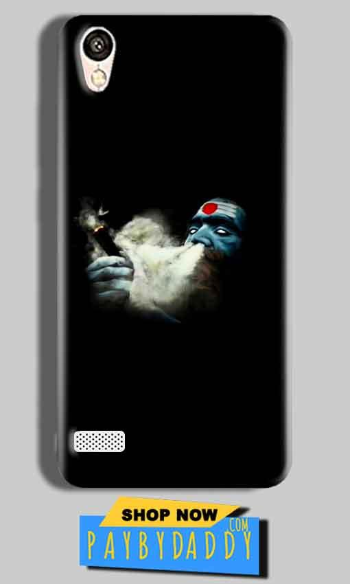 Vivo Y11 Mobile Covers Cases Shiva Aghori Smoking - Lowest Price - Paybydaddy.com