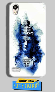 Vivo Y11 Mobile Covers Cases Shiva Blue White - Lowest Price - Paybydaddy.com