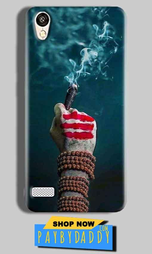 Vivo Y11 Mobile Covers Cases Shiva Hand With Clilam - Lowest Price - Paybydaddy.com