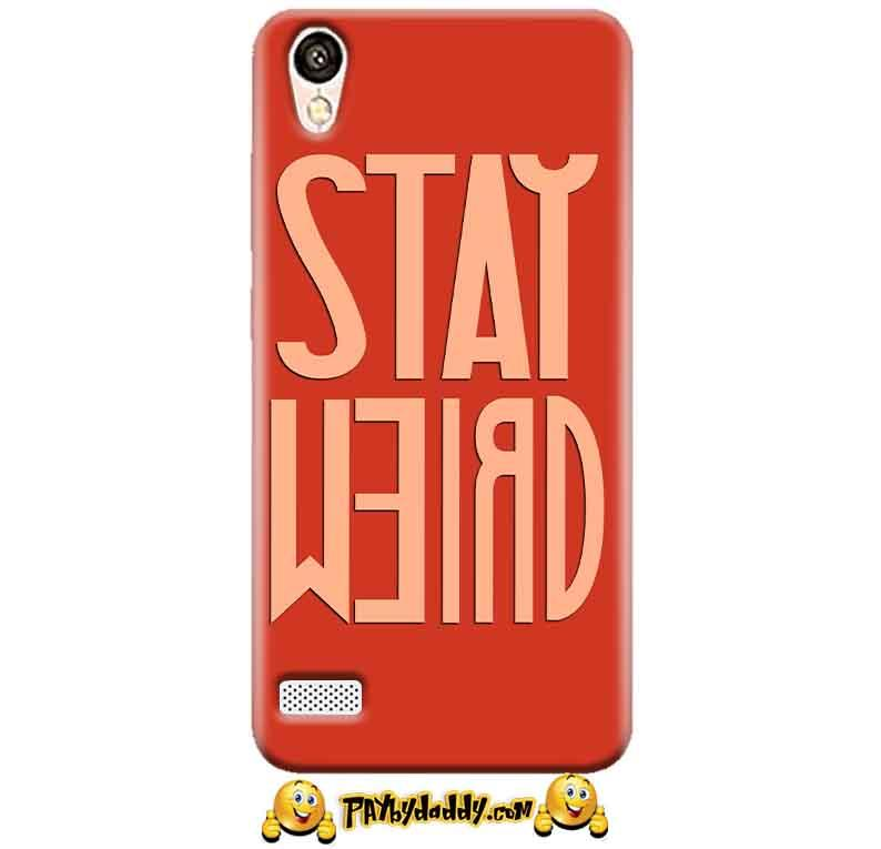 Vivo Y11 Mobile Covers Cases Stay Weird - Lowest Price - Paybydaddy.com