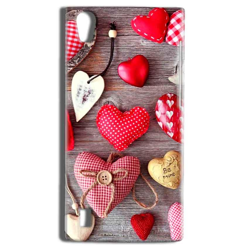 Vivo Y15 Mobile Covers Cases Hearts- Lowest Price - Paybydaddy.com