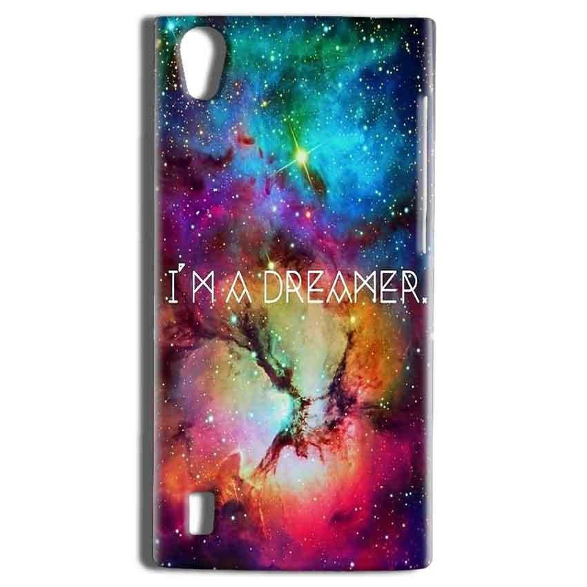 Vivo Y15 Mobile Covers Cases I am Dreamer - Lowest Price - Paybydaddy.com