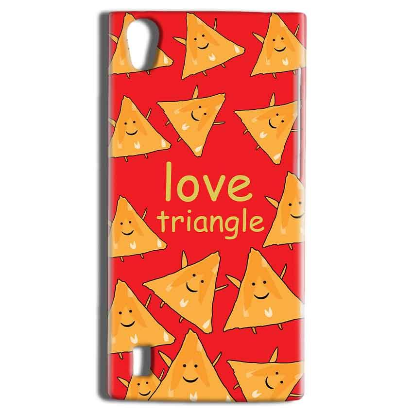 Vivo Y15 Mobile Covers Cases Love Triangle - Lowest Price - Paybydaddy.com