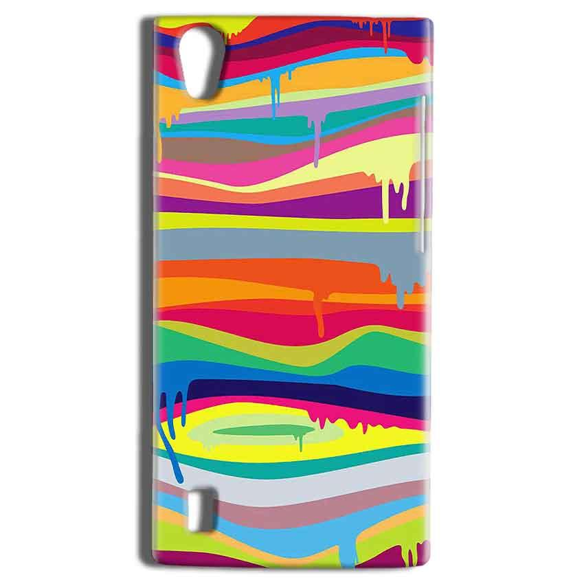 Vivo Y15 Mobile Covers Cases Melted colours - Lowest Price - Paybydaddy.com
