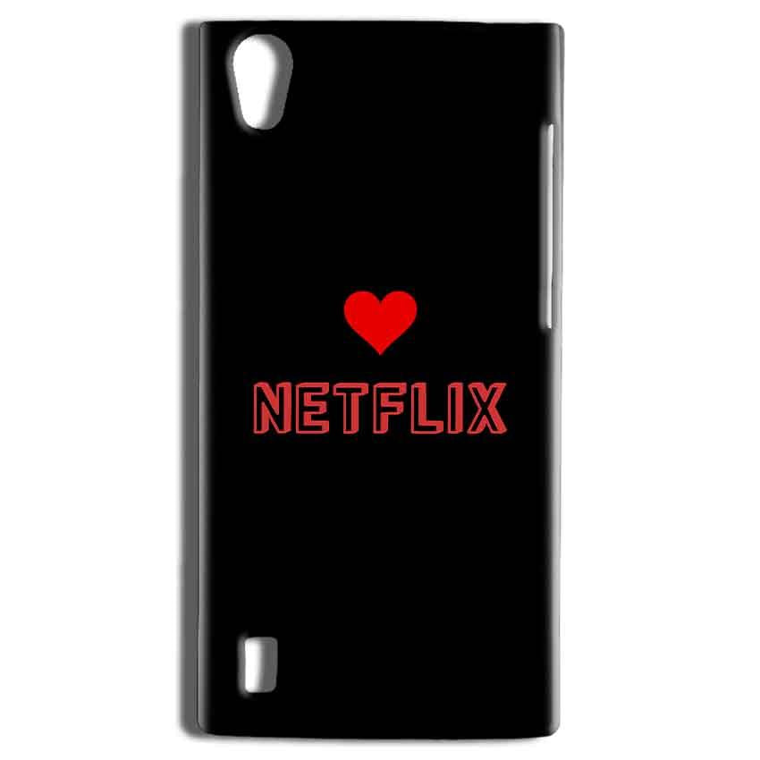Vivo Y15 Mobile Covers Cases NETFLIX WITH HEART - Lowest Price - Paybydaddy.com