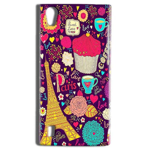 Vivo Y15 Mobile Covers Cases Paris Sweet love - Lowest Price - Paybydaddy.com