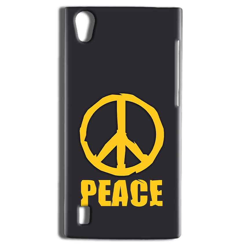 Vivo Y15 Mobile Covers Cases Peace Blue Yellow - Lowest Price - Paybydaddy.com