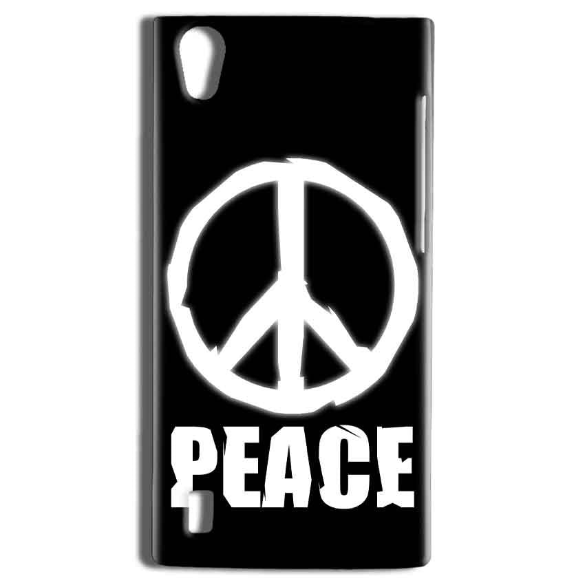 Vivo Y15 Mobile Covers Cases Peace Sign In White - Lowest Price - Paybydaddy.com