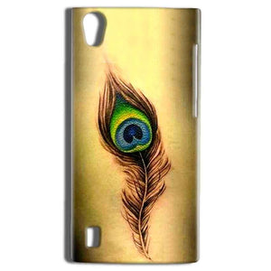 Vivo Y15 Mobile Covers Cases Peacock coloured art - Lowest Price - Paybydaddy.com