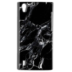 Vivo Y15 Mobile Covers Cases Pure Black Marble Texture - Lowest Price - Paybydaddy.com