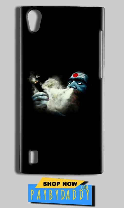 Vivo Y15 Mobile Covers Cases Shiva Aghori Smoking - Lowest Price - Paybydaddy.com