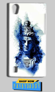Vivo Y15 Mobile Covers Cases Shiva Blue White - Lowest Price - Paybydaddy.com