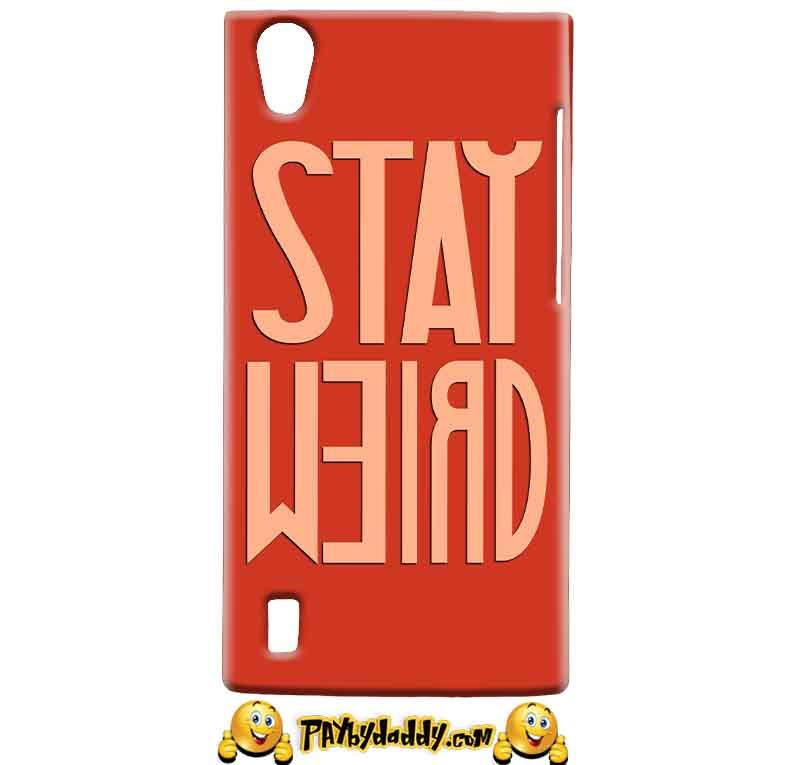 Vivo Y15 Mobile Covers Cases Stay Weird - Lowest Price - Paybydaddy.com