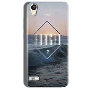 Vivo Y18L Mobile Covers Cases Forget Quote Something Different - Lowest Price - Paybydaddy.com