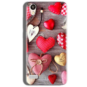 Vivo Y18L Mobile Covers Cases Hearts- Lowest Price - Paybydaddy.com
