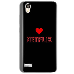 Vivo Y18L Mobile Covers Cases NETFLIX WITH HEART - Lowest Price - Paybydaddy.com