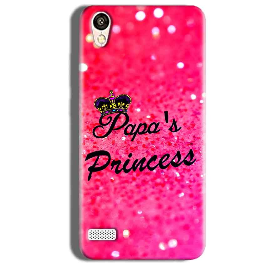 Vivo Y18L Mobile Covers Cases PAPA PRINCESS - Lowest Price - Paybydaddy.com