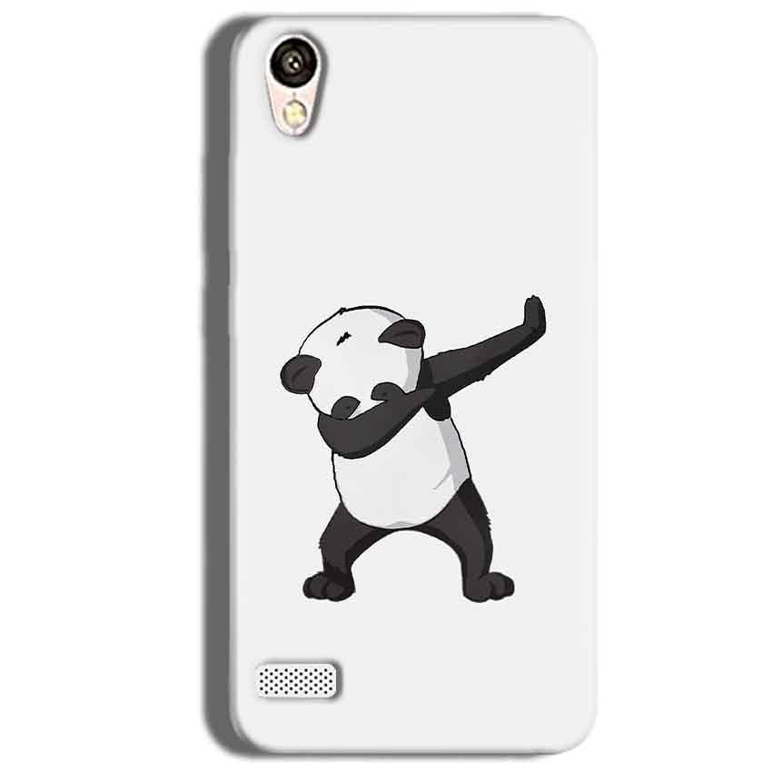 Vivo Y18L Mobile Covers Cases Panda Dab - Lowest Price - Paybydaddy.com