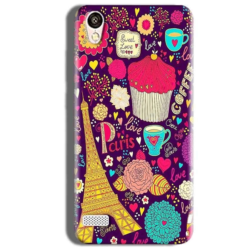 Vivo Y18L Mobile Covers Cases Paris Sweet love - Lowest Price - Paybydaddy.com