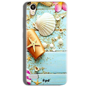 Vivo Y18L Mobile Covers Cases Pearl Star Fish - Lowest Price - Paybydaddy.com