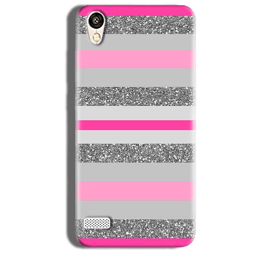 Vivo Y18L Mobile Covers Cases Pink colour pattern - Lowest Price - Paybydaddy.com
