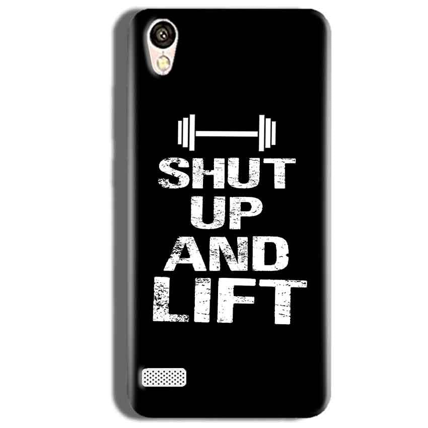 Vivo Y18L Mobile Covers Cases Shut Up And Lift - Lowest Price - Paybydaddy.com