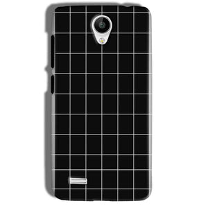 Vivo Y21 Mobile Covers Cases Black with White Checks - Lowest Price - Paybydaddy.com
