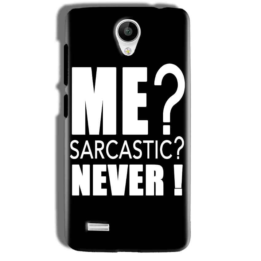 Vivo Y21 Mobile Covers Cases Me sarcastic - Lowest Price
