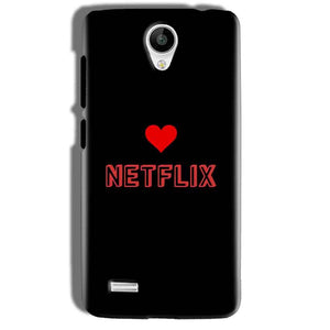 Vivo Y21 Mobile Covers Cases NETFLIX WITH HEART - Lowest Price - Paybydaddy.com