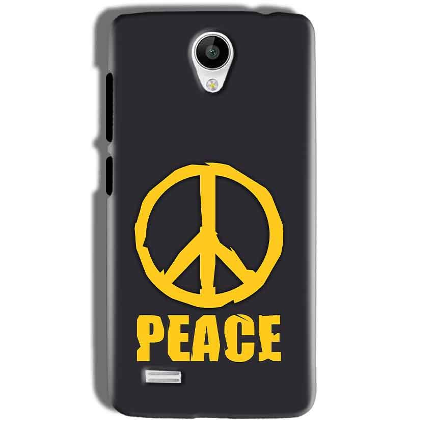 Vivo Y21 Mobile Covers Cases Peace Blue Yellow - Lowest Price - Paybydaddy.com