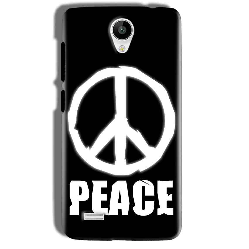 Vivo Y21 Mobile Covers Cases Peace Sign In White - Lowest Price - Paybydaddy.com