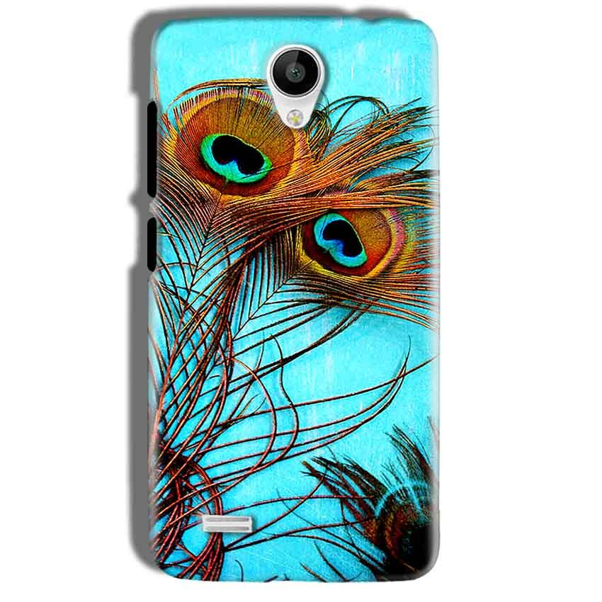 Vivo Y21 Mobile Covers Cases Peacock blue wings - Lowest Price - Paybydaddy.com