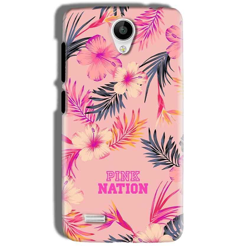 Vivo Y21 Mobile Covers Cases Pink nation - Lowest Price - Paybydaddy.com
