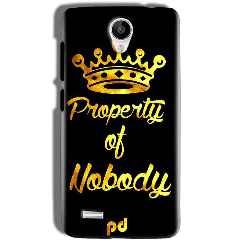 Vivo Y21 Mobile Covers Cases Property of nobody with Crown - Lowest Price - Paybydaddy.com