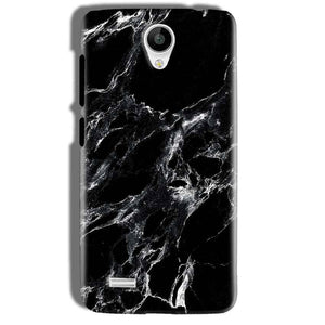 Vivo Y21 Mobile Covers Cases Pure Black Marble Texture - Lowest Price - Paybydaddy.com