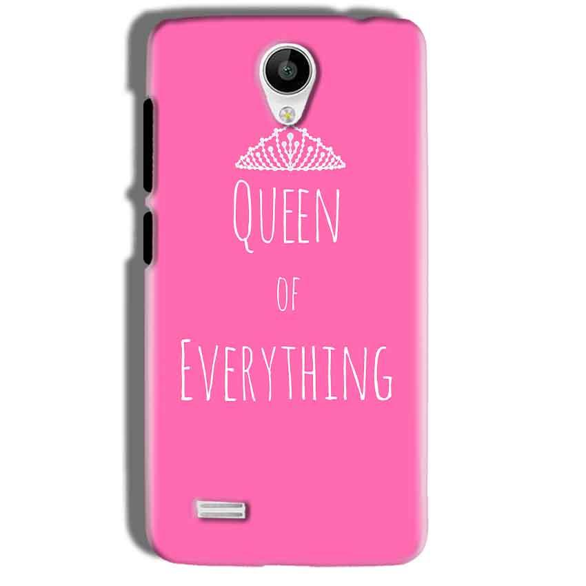 Vivo Y21 Mobile Covers Cases Queen Of Everything Pink White - Lowest Price - Paybydaddy.com