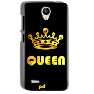 Vivo Y21 Mobile Covers Cases Queen With Crown in gold - Lowest Price - Paybydaddy.com