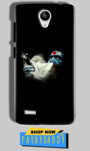 Vivo Y21 Mobile Covers Cases Shiva Aghori Smoking - Lowest Price - Paybydaddy.com