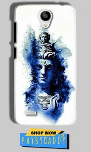 Vivo Y21 Mobile Covers Cases Shiva Blue White - Lowest Price - Paybydaddy.com