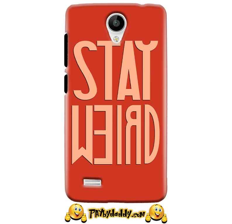 Vivo Y21 Mobile Covers Cases Stay Weird - Lowest Price - Paybydaddy.com