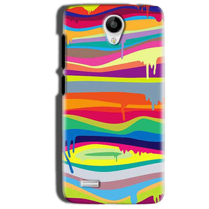 Vivo Y22 Mobile Covers Cases Melted colours - Lowest Price - Paybydaddy.com