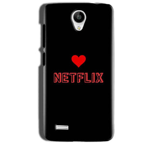 Vivo Y22 Mobile Covers Cases NETFLIX WITH HEART - Lowest Price - Paybydaddy.com