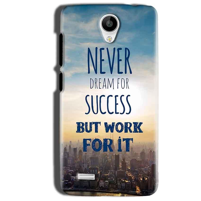 Vivo Y22 Mobile Covers Cases Never Dreams For Success But Work For It Quote - Lowest Price - Paybydaddy.com