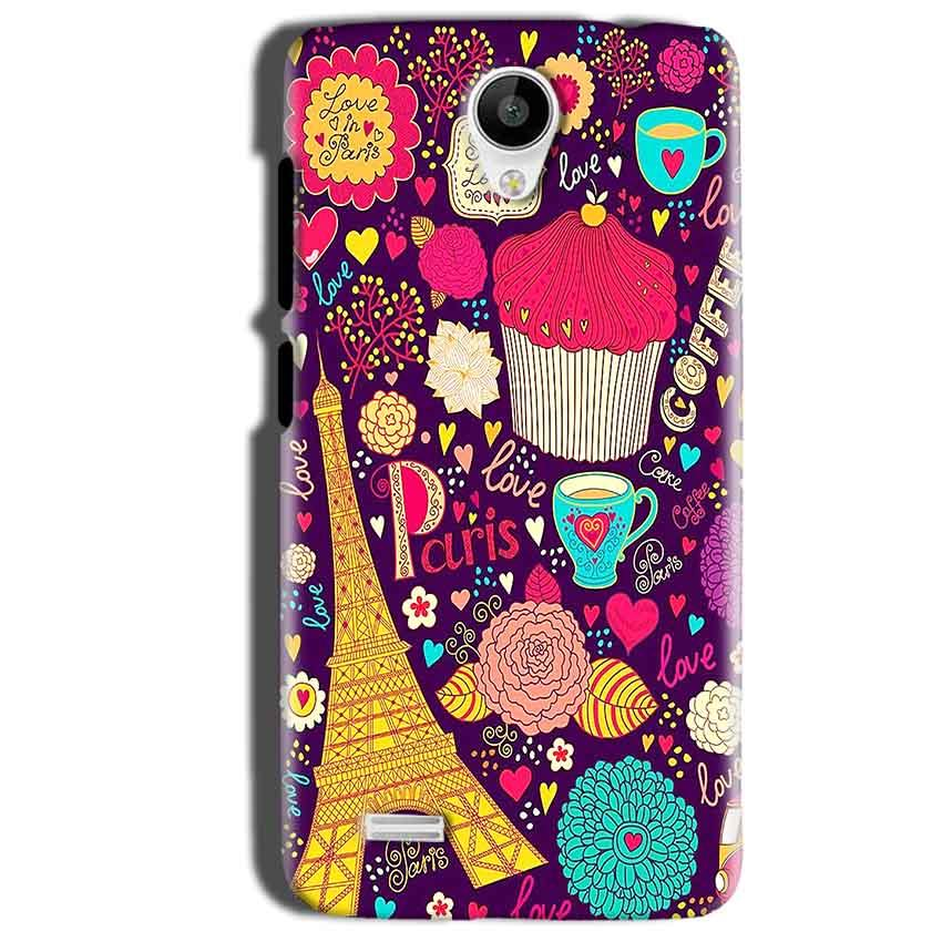 Vivo Y22 Mobile Covers Cases Paris Sweet love - Lowest Price - Paybydaddy.com