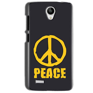 Vivo Y22 Mobile Covers Cases Peace Blue Yellow - Lowest Price - Paybydaddy.com
