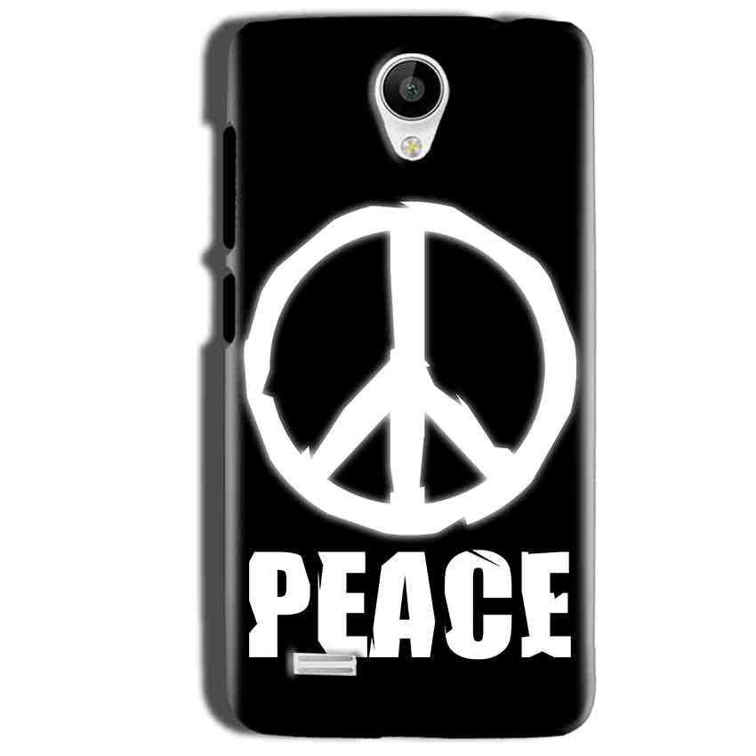 Vivo Y22 Mobile Covers Cases Peace Sign In White - Lowest Price - Paybydaddy.com