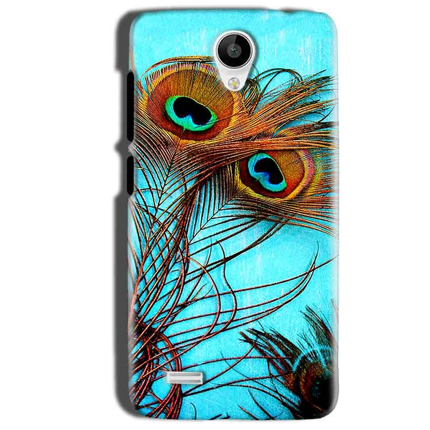 Vivo Y22 Mobile Covers Cases Peacock blue wings - Lowest Price - Paybydaddy.com