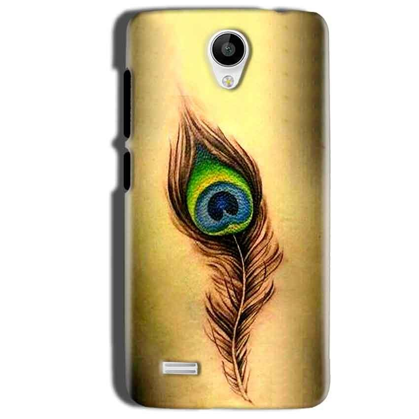 Vivo Y22 Mobile Covers Cases Peacock coloured art - Lowest Price - Paybydaddy.com