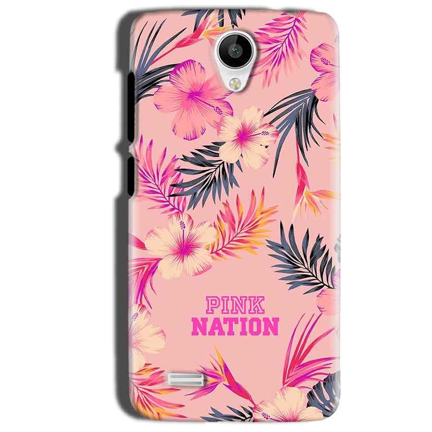 Vivo Y22 Mobile Covers Cases Pink nation - Lowest Price - Paybydaddy.com